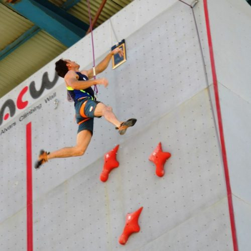 گزارش تصویری/مسابقات سنگنوردی قهرمانی کشور «سرعت» پسران/بخش دوم