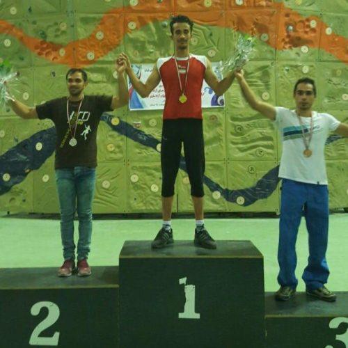 نفرات برتر شانزدهمین دوره مسابقات سنگنوردی قهرمانی کشور«سرطناب» بزرگسالان