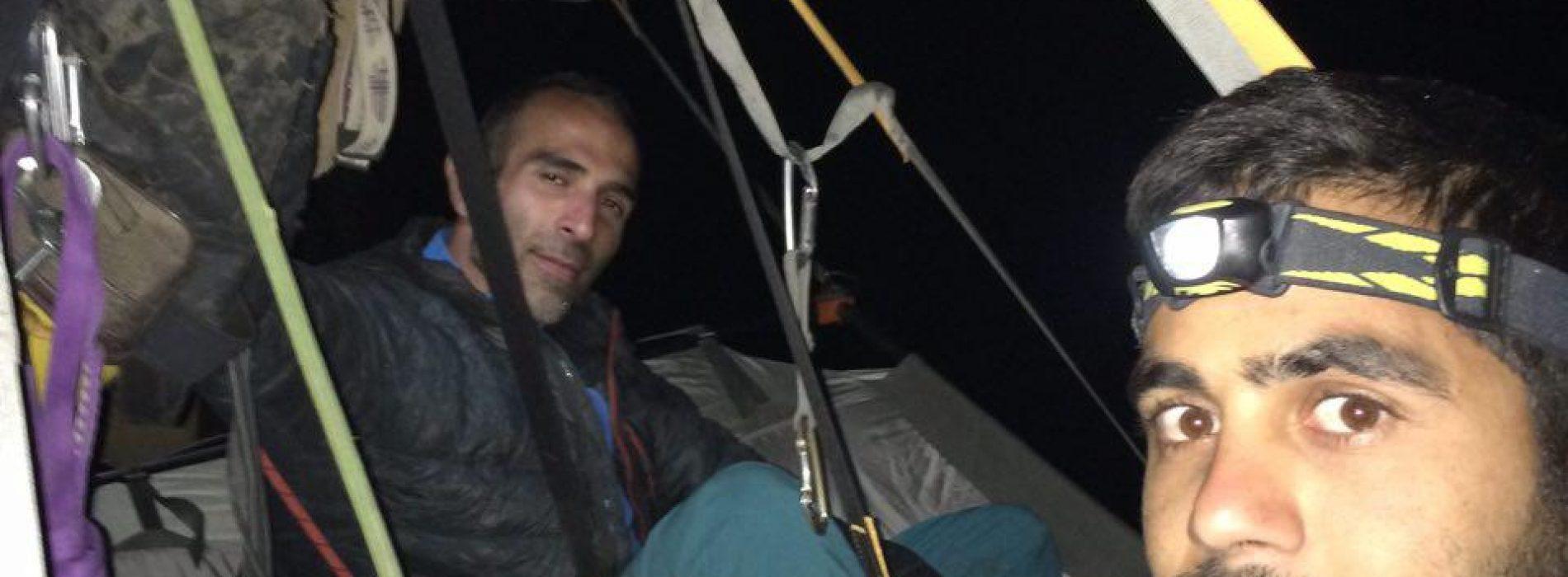 صعود شش طول در روز اول فعالیت بر روی مسیر «پیتون» کرمانشاه