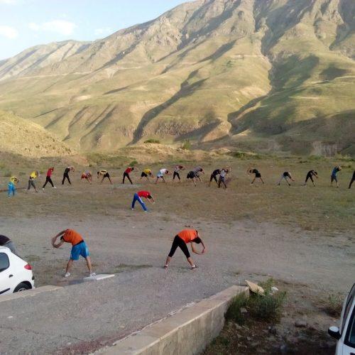 قرارگاه «پلور» اولین محل اردو نشینان تیم ملی سنگنوردی