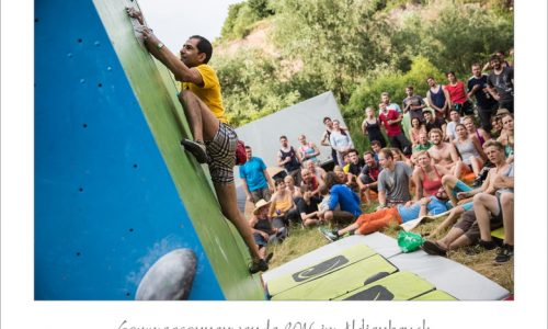«حسین یزدان دوست» کسب مقام اول فستیوال سنگنوردی کشور آلمان