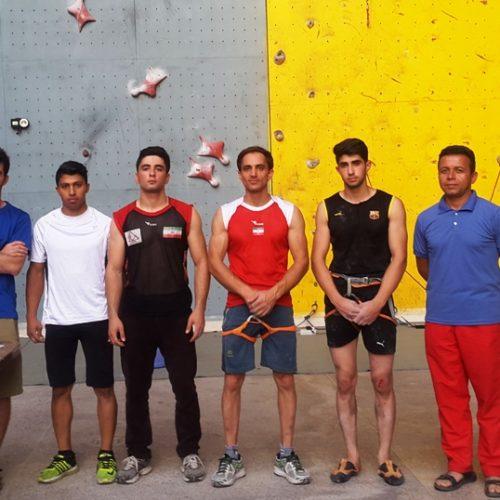 برگزاری اردوی انتخابی تیم ملی سنگنوردی در ماده سرعت+نتیجه