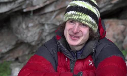 آدام آندرا اولین صعود ۹a را بر روی مسیری با شیب ۱۲۰درجه انجام داد
