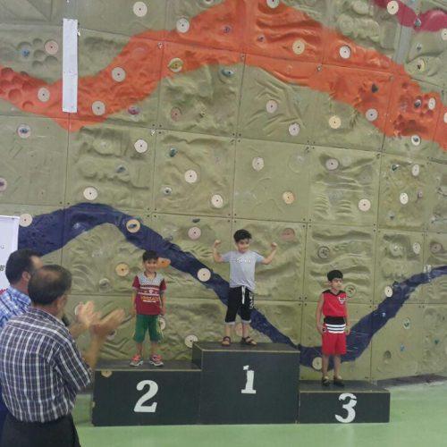 برترین های سومین دوره مسابقات سنگنوردی قهرمانی کشور/نونهالان، پسران