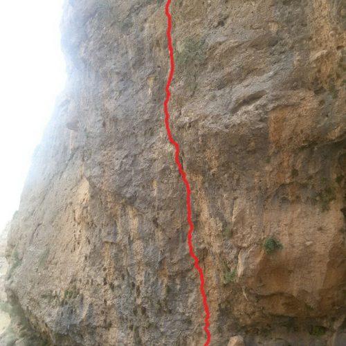 تجهیز مسیر اسپرت ماهور توسط گروه کوهنوردی و سنگنوردی زاگرس بروجرد