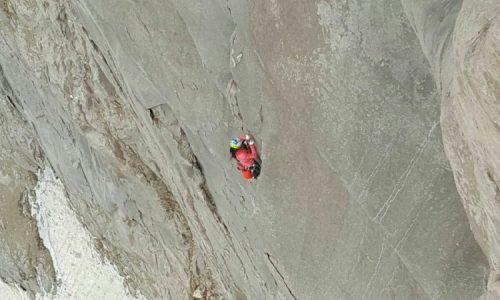 صعود سنگنوردان بانوی کشورمان به مسیر همدانی ها