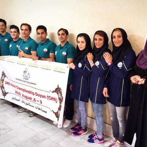 تیم ملی سنگنوردی برای حضور در مسابقات قهرمانی آسیا راهی چین شد