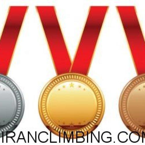 جدولی از مدال آوران رشته سنگنوردی کشورمان تاکنون