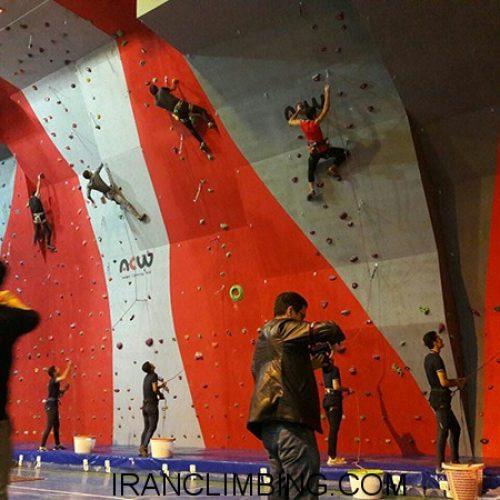 گزارش افتتاحیه دیواره سنگنوردی مهاباد