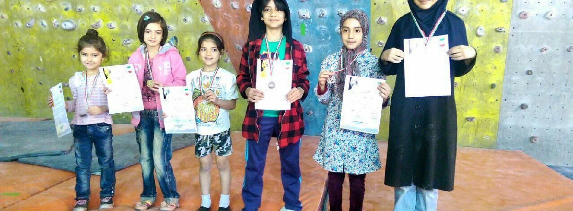 زنجان: نتایج مسابقات سنگنوردی نونهالان و نوجوانان/بانوان