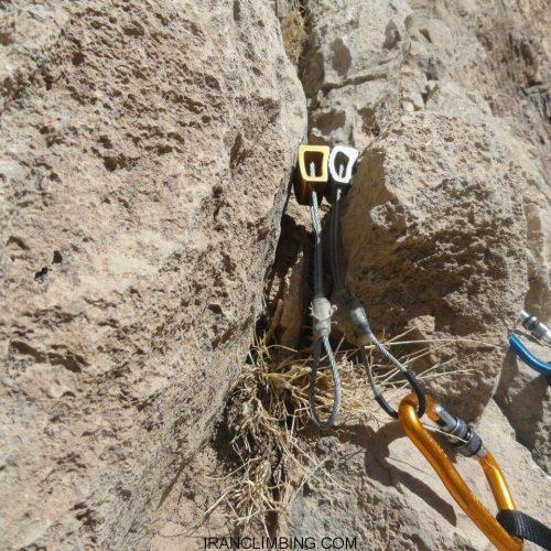 یاسوج: برگزاری دروه پیشرفته سنگنوردی طبیعت