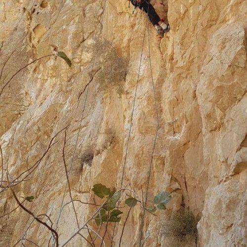 گشایش ششمین مسیر اسپرت در منطقه چشمه لاوی