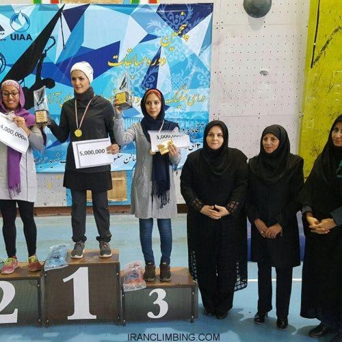نقرات برتر پنجمين دوره رقابت هاي درآي تولينگ جام فجر بانوان / اصفهان