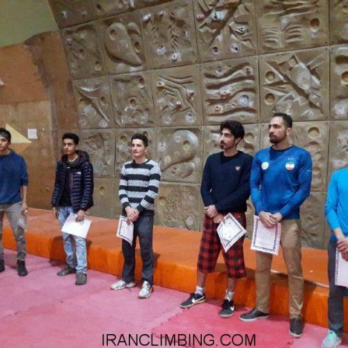 چهارمحال و بختیاری: نتایج اولین دوره مسابقات سنگنوردی جام مونارک