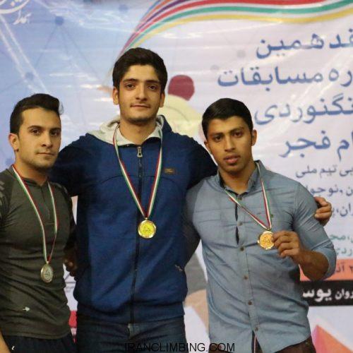 میلاد علیپور قهرمان سرعت مسابقات جام فجر شد