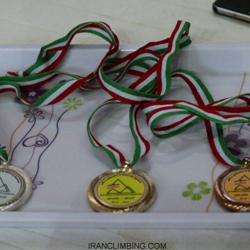 نتایج شرکت کنندگان در هفدهمین دوره رقابتهای سنگنوردی جام فجر/ همدان