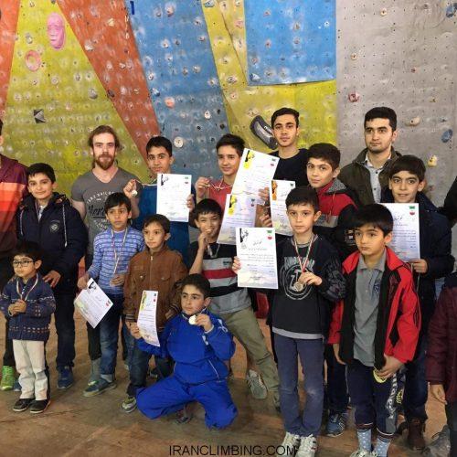 زنجان: نتایج مسابقات سنگنوردی نونهالان و نوجوانان
