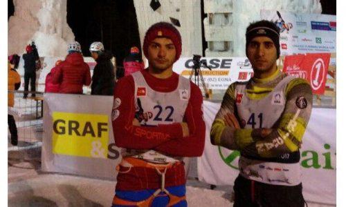 راهیابی ورزشکاران کشورمان به فینال مسابقات سرعت جهانی یخ نوردی ایتالیا