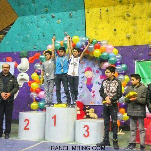 نتایج کلی سومین دوره مسابقات سنگ نوردي جام فجر نونهالان و نوجوانان