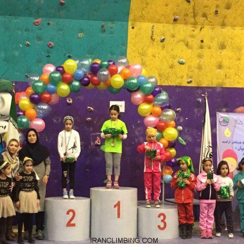 نتایج سومین دوره مسابقات سنگنوردی نونهالان و نوجوانان/دختران