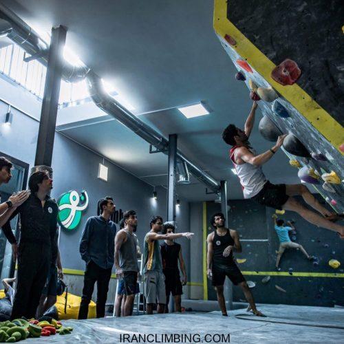 نتایج مسابقات سنگنوردی نومرز /اراک