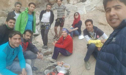 گشایش هشتمین مسیر در چشمه لاوی اصفهان