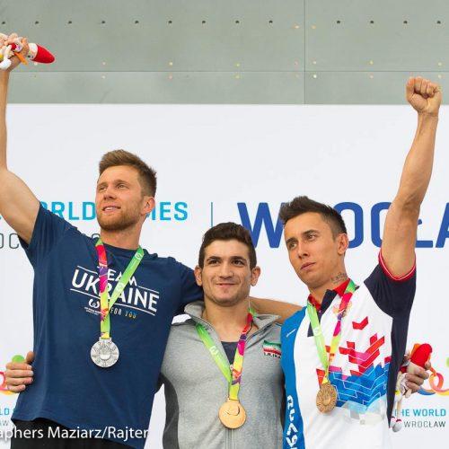 گزارش تصویری / بازیهای جهانی لهستان 2017 و قهرمانی رضا علیپور