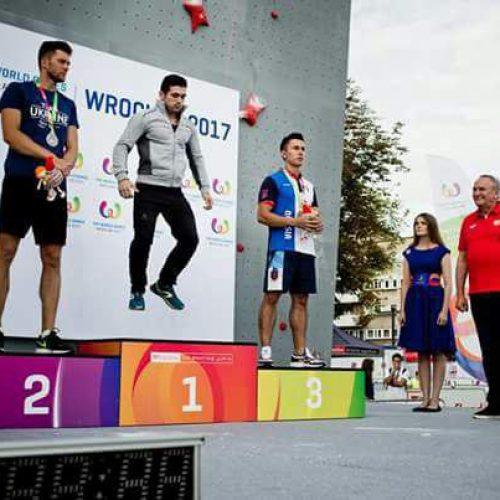 «رضا عليپور»؛ ورزشكار برتر سومین روز مسابقات World Games در قسمت مردان