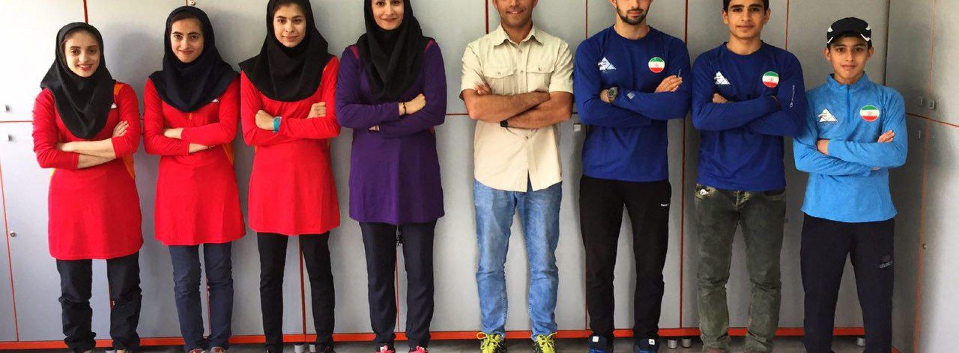 اعزام تیم ملی سنگنوردی نوجوانان و جوانان کشورمان به مسابقات آسیایی سنگاپور