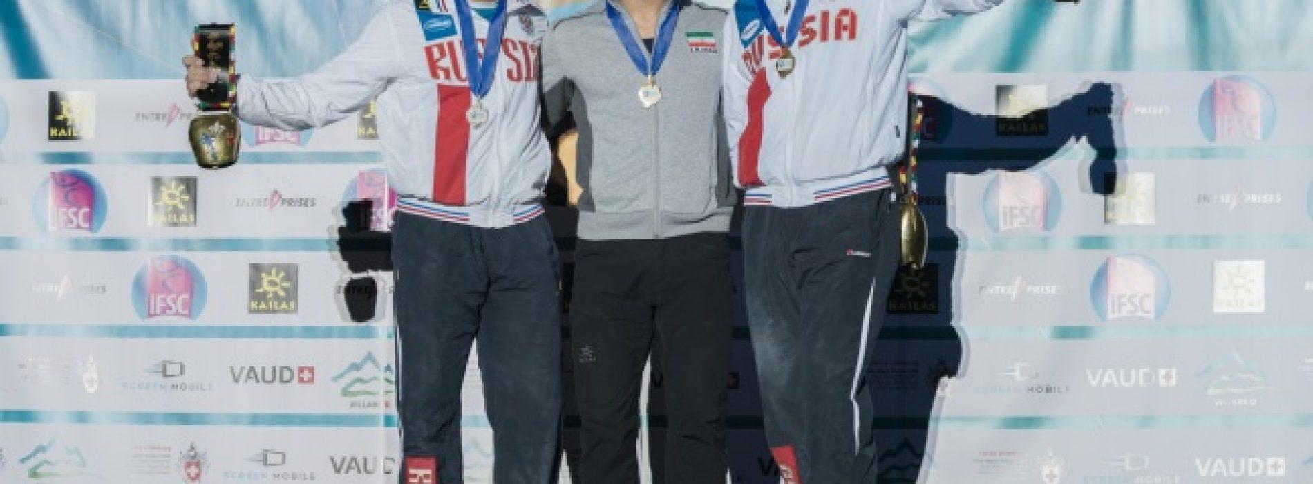 سریعترین مرد عمودی جهان  بازهم شایستگی خود را در جام جهانی سوئیس ثابت کرد.