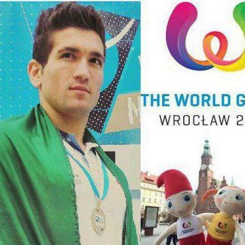 رضا علیپور، تنها نماینده ایران در مسابقات جهانی لهستان ۲۰۱۷