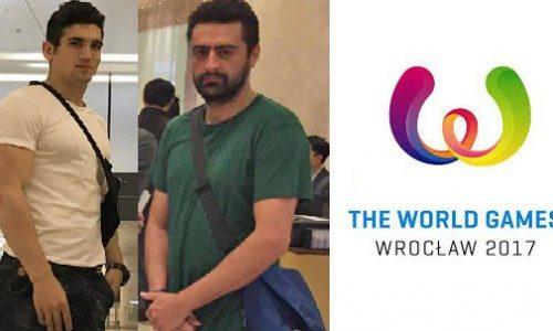 رضا علییپور تنها ورزشکار ایرانی حاضر در بازیهای جهانی لهستان ۲۰۱۷