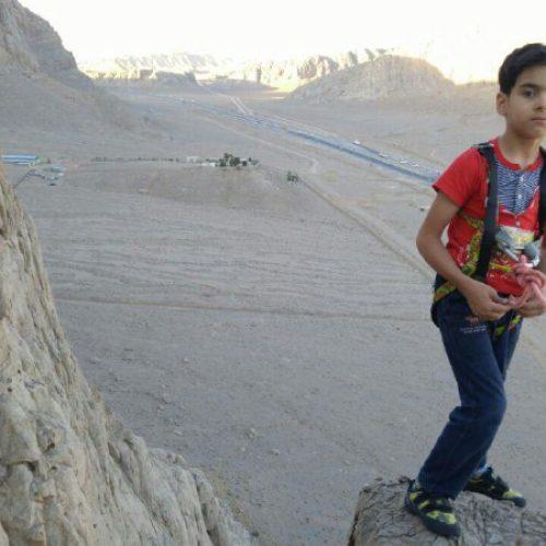 صعود مسیر سپهر 1 توسط سهیل خرمی نونهال 6 ساله اصفهانی (مبارکه)