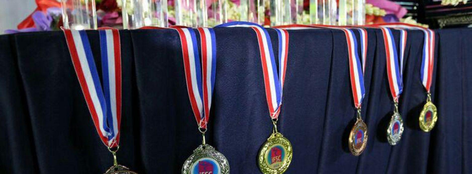 «ایران» با سه مدال «طلا»،«نقره» و «برنز» به مقام سوم آسیا دست یافت