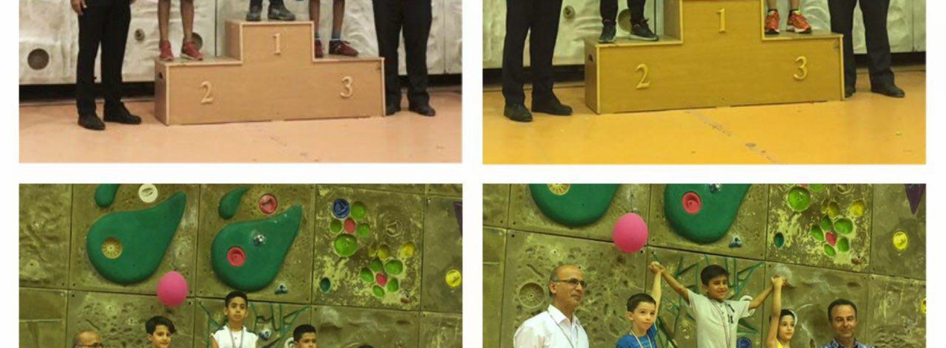 نتایج چهارمین دوره مسابقات سنگنوردی قهرمانی کشور نونهالان و نوجوانان / شاهرود