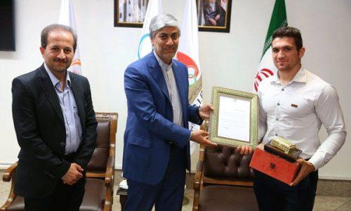 پاداش کمیته ملی المپیک به «رضا علیپور»