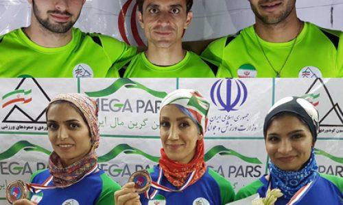 مدالهای «نقره» و «برنز» تیمی «سرعت» مردان و زنان آسیا از آن تیمهای ایران