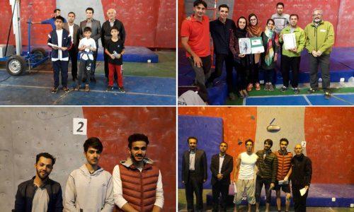 نتایج مسابقات سنگنوردی شمالغرب کشور / مهاباد