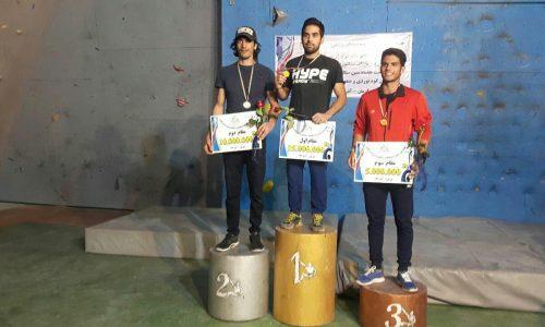 «خسرو هاشم زاده» قهرمان قهرمانان اولین دوره مسابقات مسترکاپ