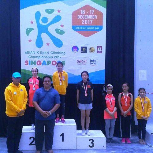 درخشش سنگنوردان نوجوان ایران در قهرمانی آسیا