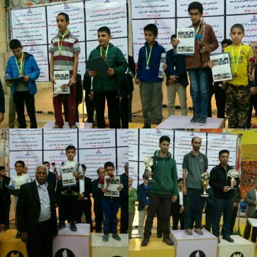 نتایج مسابقات سنگنوردی جنوب کشور