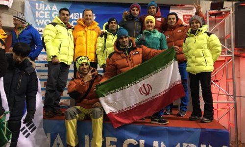 مدال برنز جام جهانی سوئیس بر سینه «محمد رضا صفدریان»
