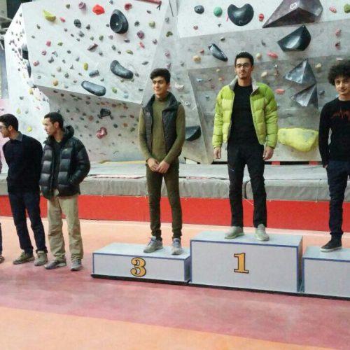 نتایج مرحله دوم مسابقات انتخابی تیم سنگنوردی استان همدان / ماده لید