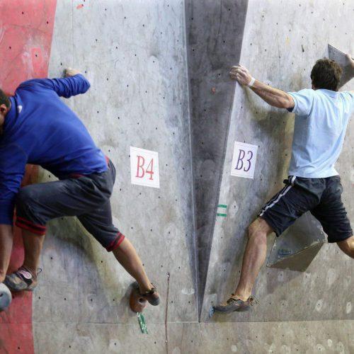 پنجمين دوره مسابقات سنگنوردي قهرماني کشور / رده هاي سني نونهالان و نوجوانان