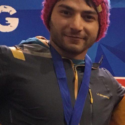 محمدرضا صفدریان تنها مدعی رنکینگ جهانی رشته سرعت و لید سال ۲۰۱۸