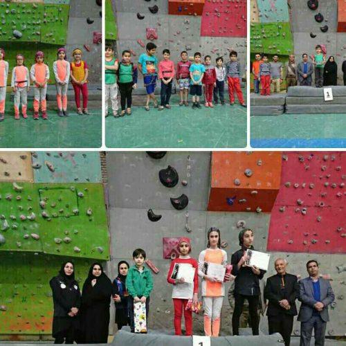نتایج مسابقات سنگنوردی قهرمانی شهرستان نیشابور