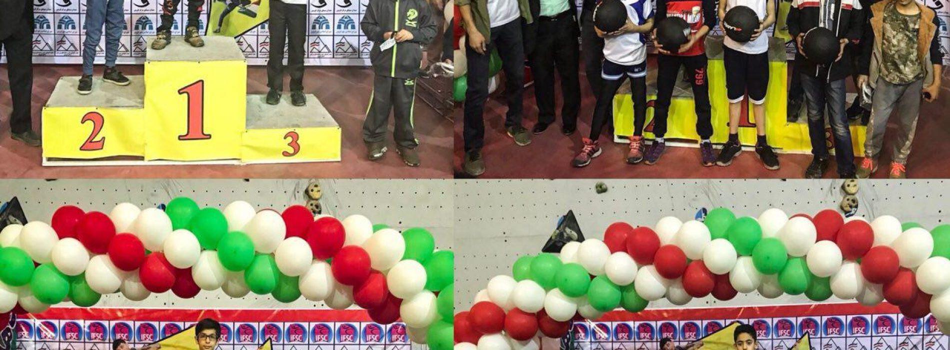 نتایج کلی چهارمین دوره مسابقات سنگنوردی جام فجررده سنی نونهالان – نوجوانان /قزوین