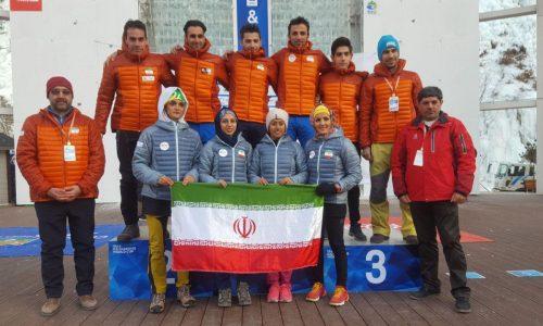 درخشش بینظیر یخنوردان ایران و ایستادن بر سکوی نخست آسیا