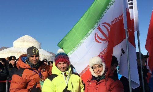 محمدرضا صفدریان تنها یخنورد فینالیست هم در سرعت و هم در لید.