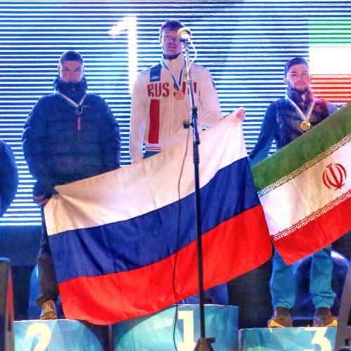 برای اولین بار در تاریخ یخنوردی ایران کسب مدال برنز قهرمان قهرمانان جهان(لید) در سال ٢٠١٨
